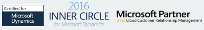 Microsoft gold partner, Microsoft inner circle for Microsoft Dynamics, Certified Microsoft Dynamics